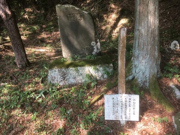 大籠 千松大八郎(せんまつだいはちろう)の墓