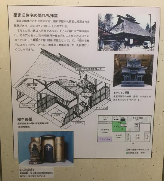 岩手県一関市藤沢町徳田で見つかった隠れキリシタンの礼拝堂