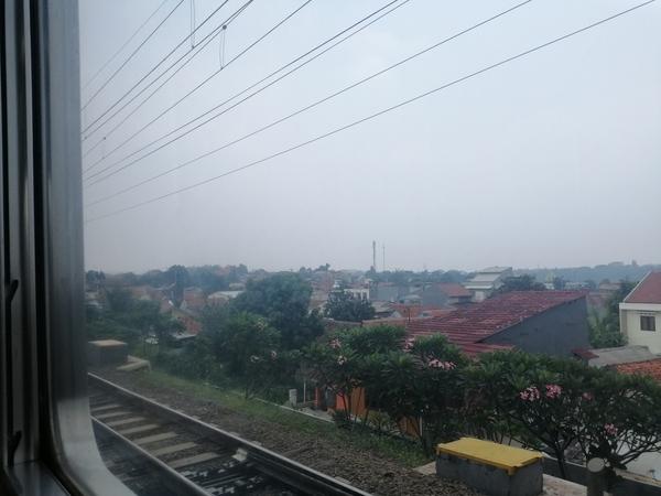 インドネシア ジャカルタ ボゴールへ向けて標高を上げていく
