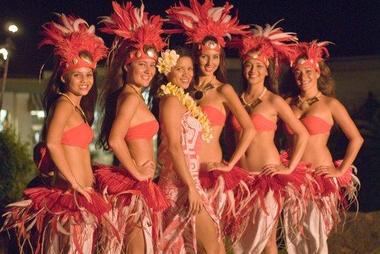 Tahitian Dance at Poipu Shopping Village